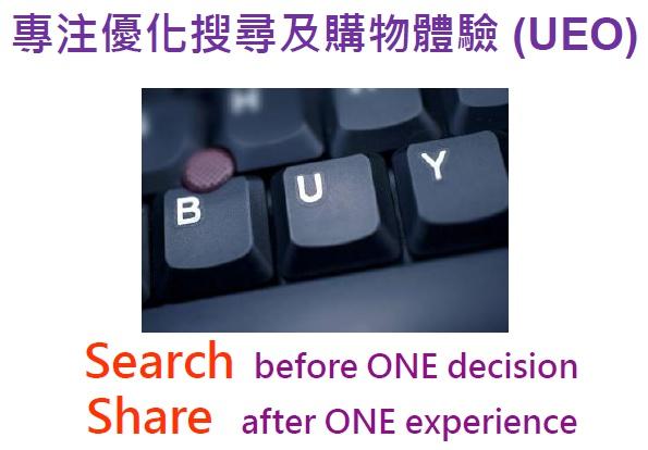搜尋優化與購物體驗UEO